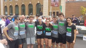 The CrossFit 782 team at the annual PEI Marathon.